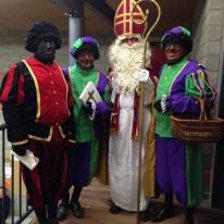 Sinterklaas op de scouts 2015